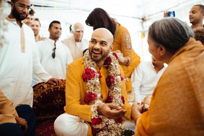 elena + danesh (boda en Hyderabad, India)