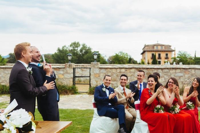 ismael + daniel (boda en Aldea Santillana)
